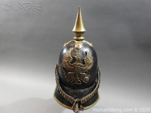 Prussian 1856 Model Enlisted Infantry Spiked Helmet