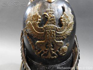 michaeldlong.com 7173 300x225 Prussian 1856 Model Enlisted Infantry Spiked Helmet