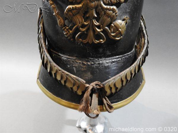 michaeldlong.com 7174 600x450 Prussian 1856 Model Enlisted Infantry Spiked Helmet