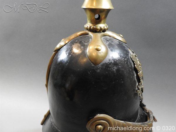 michaeldlong.com 7176 600x450 Prussian 1856 Model Enlisted Infantry Spiked Helmet