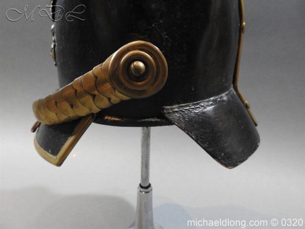 michaeldlong.com 7183 600x450 Prussian 1856 Model Enlisted Infantry Spiked Helmet