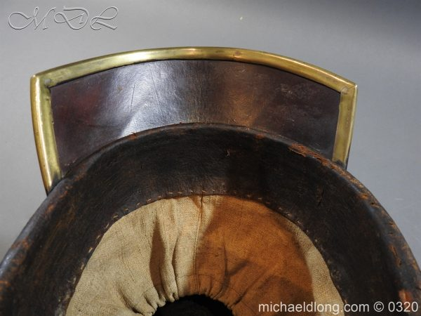 michaeldlong.com 7185 600x450 Prussian 1856 Model Enlisted Infantry Spiked Helmet