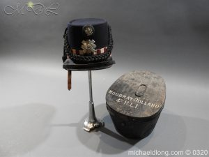 Scottish Highland Light Infantry Victorian Shako