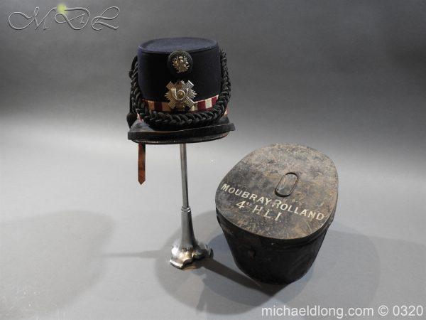 michaeldlong.com 7189 600x450 Scottish Highland Light Infantry Victorian Shako