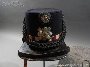 michaeldlong.com 7190 300x225 Scottish Highland Light Infantry Victorian Shako