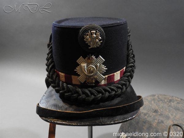 michaeldlong.com 7190 600x450 Scottish Highland Light Infantry Victorian Shako