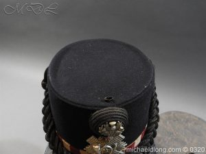 michaeldlong.com 7191 300x225 Scottish Highland Light Infantry Victorian Shako