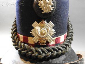 michaeldlong.com 7192 300x225 Scottish Highland Light Infantry Victorian Shako