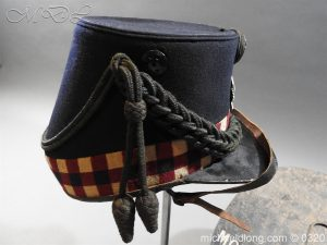 michaeldlong.com 7193 300x225 Scottish Highland Light Infantry Victorian Shako