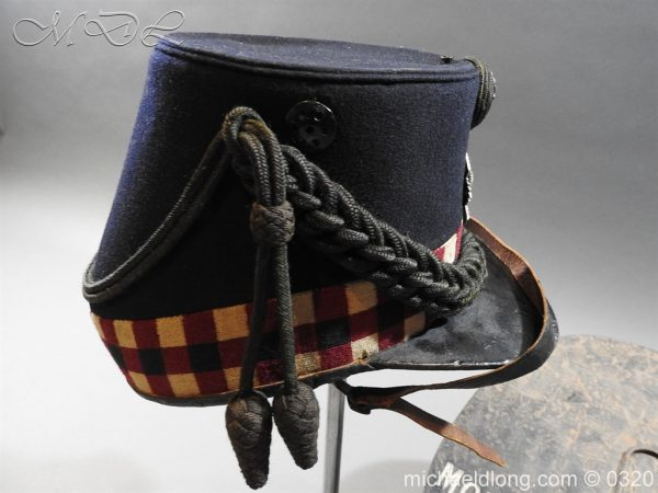 michaeldlong.com 7193 600x450 Scottish Highland Light Infantry Victorian Shako