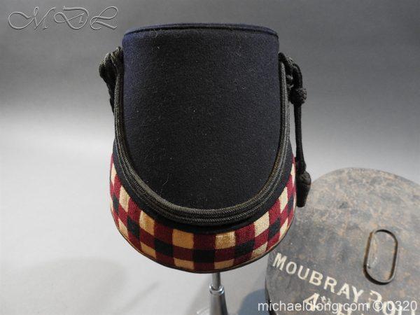 michaeldlong.com 7194 600x450 Scottish Highland Light Infantry Victorian Shako