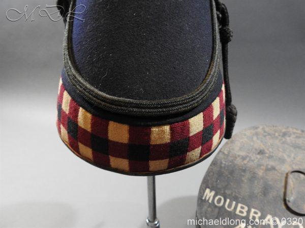 michaeldlong.com 7195 600x450 Scottish Highland Light Infantry Victorian Shako