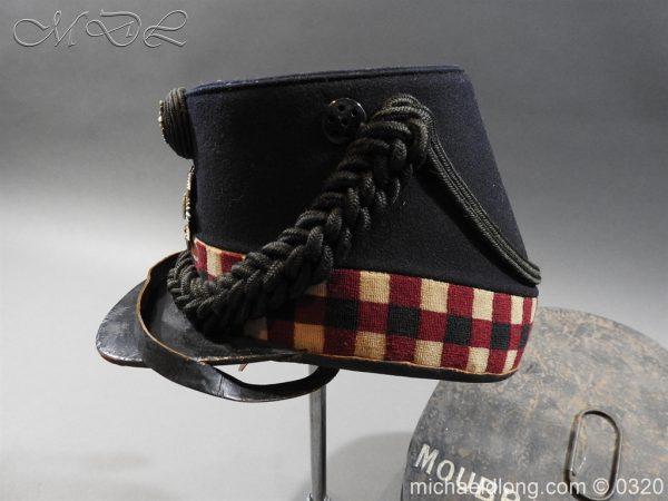 michaeldlong.com 7196 600x450 Scottish Highland Light Infantry Victorian Shako