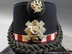 michaeldlong.com 7197 300x225 Scottish Highland Light Infantry Victorian Shako