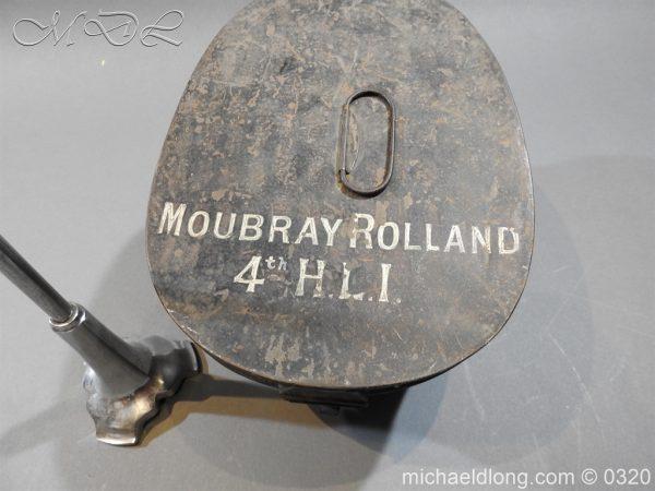 michaeldlong.com 7200 600x450 Scottish Highland Light Infantry Victorian Shako