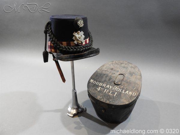 michaeldlong.com 7201 600x450 Scottish Highland Light Infantry Victorian Shako