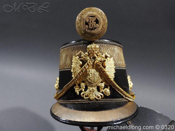 michaeldlong.com 7212 600x450 Austrian Infantry Officer's Shako