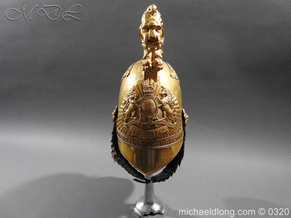 michaeldlong.com 7241 600x450 Inniskilling Dragoons Officer's 1834 Pattern Helmet