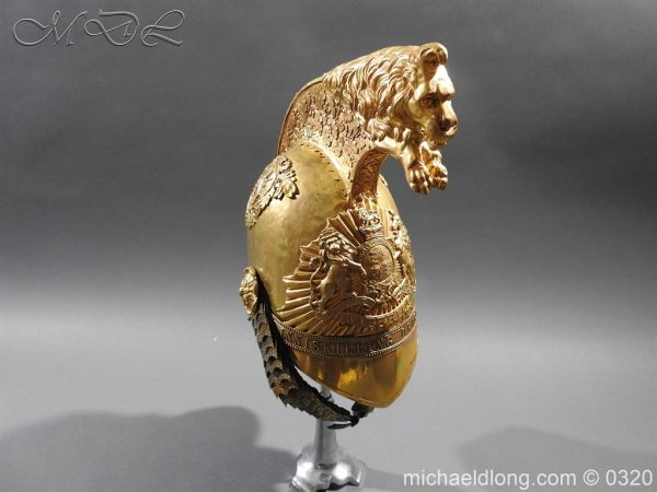 michaeldlong.com 7245 600x450 Inniskilling Dragoons Officer's 1834 Pattern Helmet