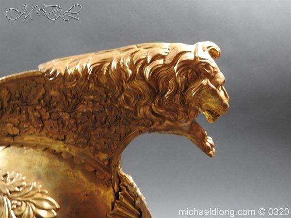 michaeldlong.com 7247 600x450 Inniskilling Dragoons Officer's 1834 Pattern Helmet