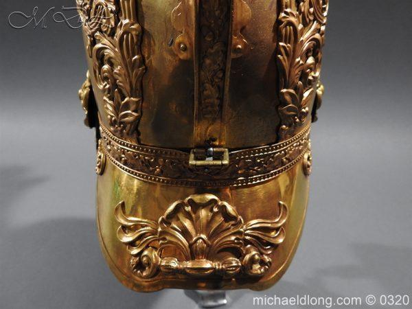 michaeldlong.com 7252 600x450 Inniskilling Dragoons Officer's 1834 Pattern Helmet
