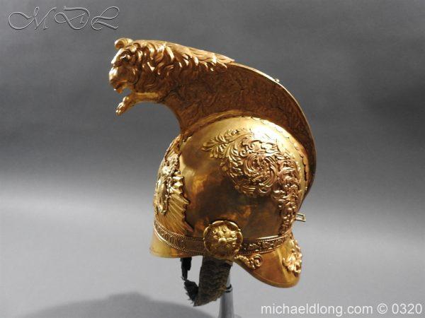 michaeldlong.com 7253 600x450 Inniskilling Dragoons Officer's 1834 Pattern Helmet