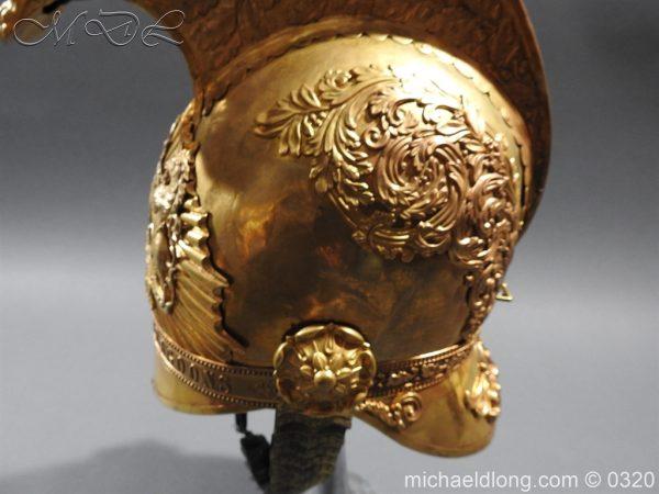 michaeldlong.com 7254 600x450 Inniskilling Dragoons Officer's 1834 Pattern Helmet