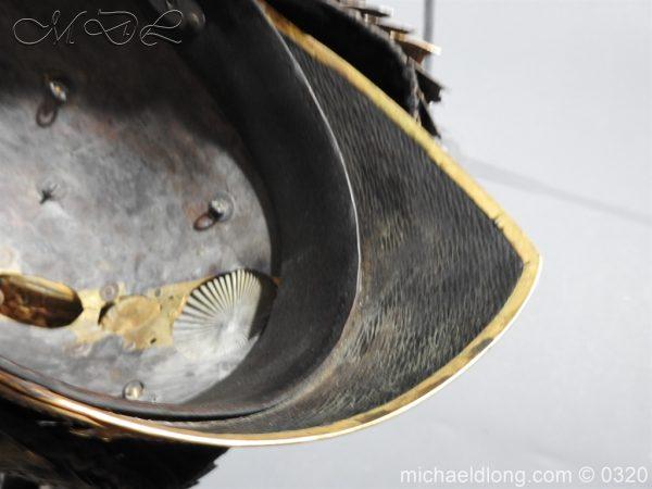 michaeldlong.com 7256 600x450 Inniskilling Dragoons Officer's 1834 Pattern Helmet