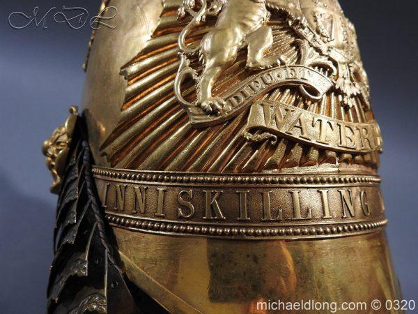 michaeldlong.com 7261 600x450 Inniskilling Dragoons Officer's 1834 Pattern Helmet