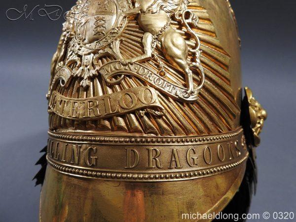 michaeldlong.com 7262 600x450 Inniskilling Dragoons Officer's 1834 Pattern Helmet