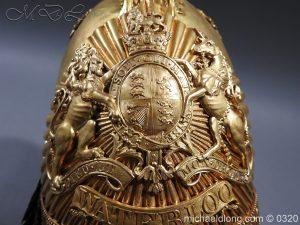 michaeldlong.com 7263 300x225 Inniskilling Dragoons Officer's 1834 Pattern Helmet