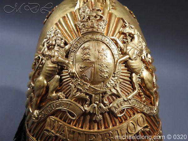 michaeldlong.com 7263 600x450 Inniskilling Dragoons Officer's 1834 Pattern Helmet