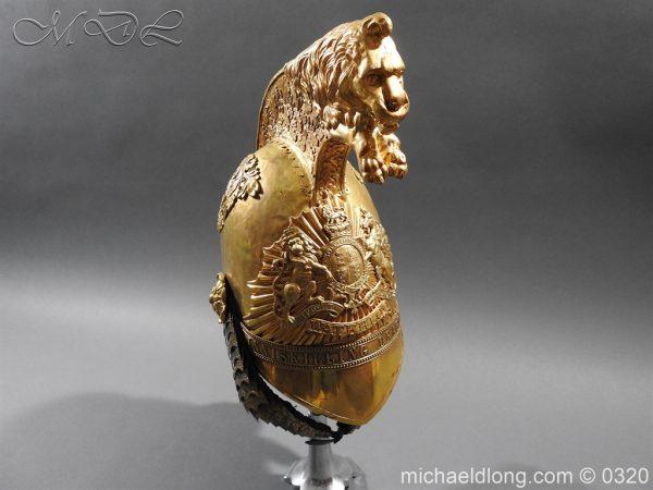 michaeldlong.com 7265 600x450 Inniskilling Dragoons Officer's 1834 Pattern Helmet
