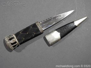 michaeldlong.com 7267 300x225 Gordon Highlanders Officer's Cased Dirk Set