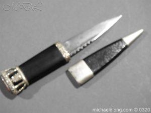 michaeldlong.com 7269 300x225 Gordon Highlanders Officer's Cased Dirk Set