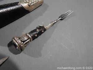 michaeldlong.com 7275 300x225 Gordon Highlanders Officer's Cased Dirk Set