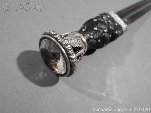 michaeldlong.com 7279 300x225 Gordon Highlanders Officer's Cased Dirk Set