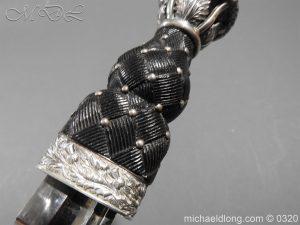 michaeldlong.com 7284 300x225 Gordon Highlanders Officer's Cased Dirk Set