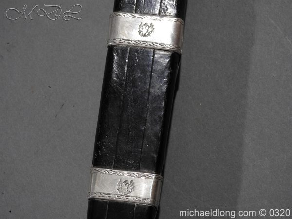 michaeldlong.com 7292 600x450 Gordon Highlanders Officer's Cased Dirk Set