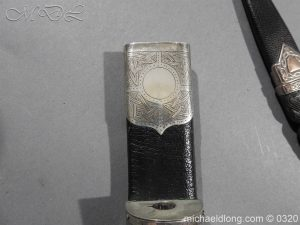 michaeldlong.com 7326 300x225 Scottish Silver Mounted Cased Dress Dirk
