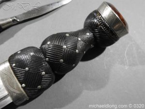 michaeldlong.com 7332 300x225 Scottish Silver Mounted Cased Dress Dirk