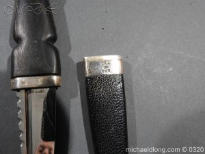 michaeldlong.com 7337 300x225 Scottish Silver Mounted Cased Dress Dirk