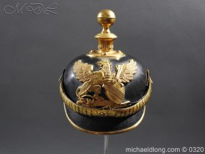 Imperial German Baden Artillery Officers Pickelhaube