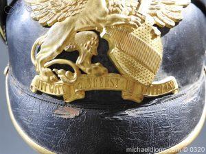 michaeldlong.com 7347 300x225 Imperial German Baden Artillery Officers Pickelhaube