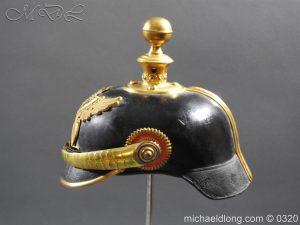 michaeldlong.com 7351 300x225 Imperial German Baden Artillery Officers Pickelhaube