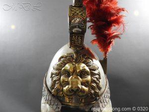 michaeldlong.com 7389 300x225 Belgium Cuirassiers 1845 Helmet
