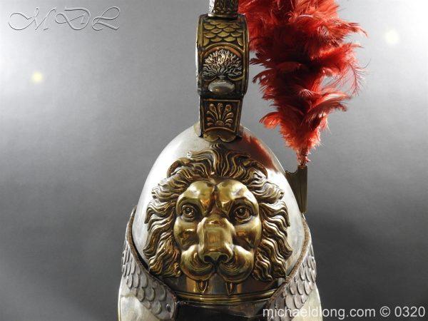 michaeldlong.com 7389 600x450 Belgium Cuirassiers 1845 Helmet