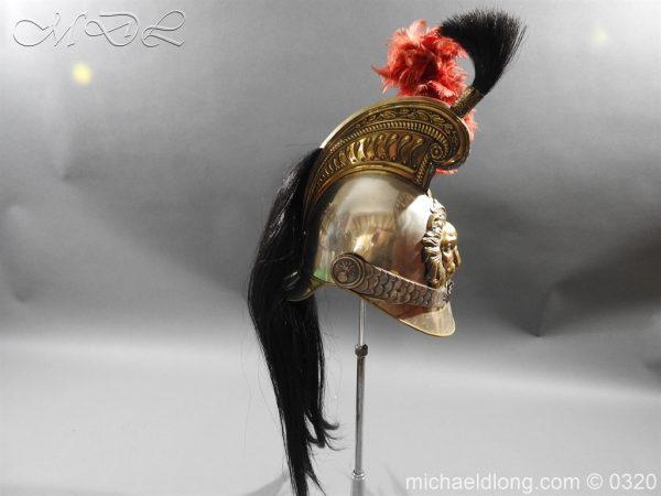 michaeldlong.com 7391 600x450 Belgium Cuirassiers 1845 Helmet