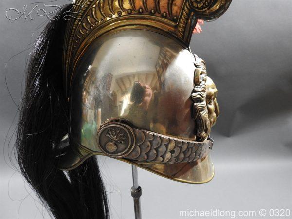 michaeldlong.com 7392 600x450 Belgium Cuirassiers 1845 Helmet