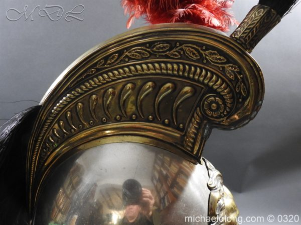 michaeldlong.com 7393 600x450 Belgium Cuirassiers 1845 Helmet